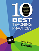 Logo of 10 Best Teaching Practices: How Brain Research and Learning Styles Define Teaching Competencies